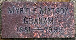 Myrtle <I>Robinson</I> Graham