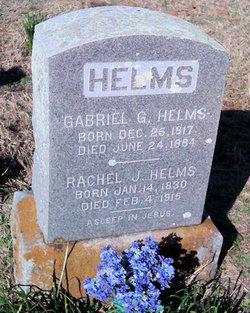 Rachel Josephine <I>Hobbs</I> Helms