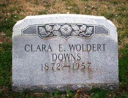 Clara Edelina <I>Woldert</I> Downs