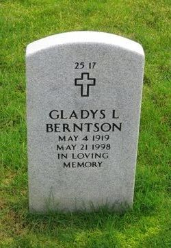 Gladys Luella Berntson