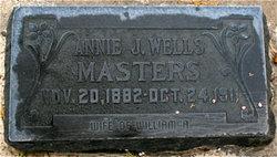 Annie Jane <I>Wells</I> Masters