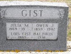 Lois <I>Gist</I> Baldwin