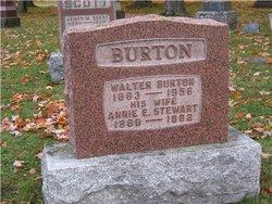Annie E <I>Stewart</I> Burton
