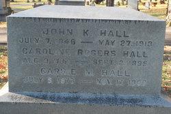 John K Hall