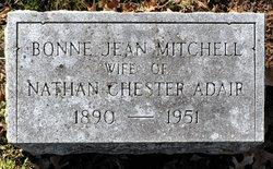 Bonne Jean <I>Mitchell</I> Adair