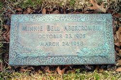 Minnie Bell <I>Backus</I> Abercrombie