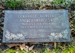 Eckhardt Fowler Abercrombie, Sr