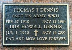 Thomas J Dennis