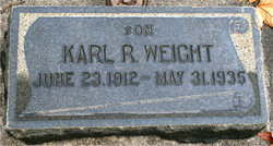 Karl Rowland Weight