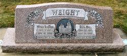 Ruth <I>Hill</I> Weight