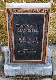 Hannah Jane <I>Davis</I> Gammell