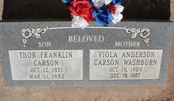 Thor Franklin Carson