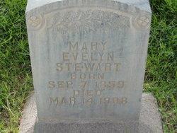Mary Evelyn <I>Burriston</I> Stewart
