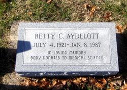 Lucy Elizabeth <I>Cottle</I> Aydelott