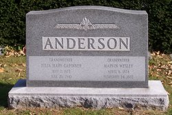 Julia Mary <I>Gardiner</I> Anderson