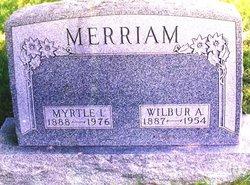 Myrtle Iva <I>Benshoof</I> Merriam