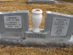 Theodore Lincoln Cannon, Sr