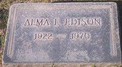 Alma Elizabeth <I>Glasgow</I> Edison