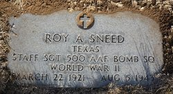 Roy Albert Sneed