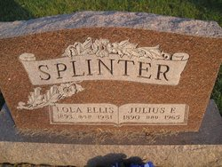 Lola <I>Ellis</I> Splinter