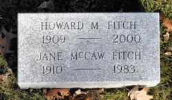 Jane Rogers <I>McCaw</I> Fitch