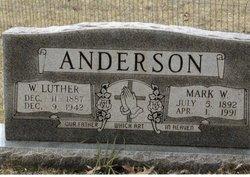 Mark <I>Williams</I> Anderson