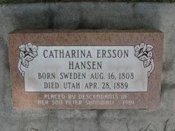 Catharina <I>Ersson</I> Hansen
