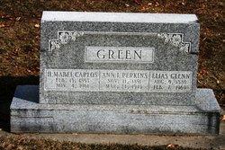 Harriet Mabel <I>Carlos</I> Green