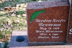 Berdine Snefri <I>Tenneson</I> Faneuf
