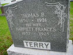 Harriett Frances <I>Flint</I> Terry