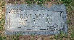 Tillie B. <I>Edwards</I> Wegley