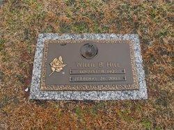 """Willie B """"Bill"""" Hill"""