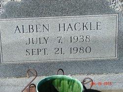 Alben Hackle