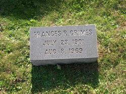 Frances Rebecca <I>Wachter</I> Grimes