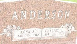 Edna A. <I>Johnson</I> Anderson