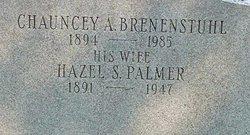 Hazel Sarah <I>Palmer</I> Brenenstuhl