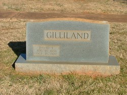 """David Luther """"Luther"""" Gilliland"""