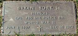 F Bryan York, Sr