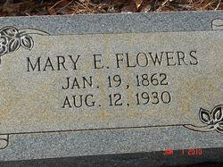 """Mary E. """"Bessie"""" <I>Alger</I> Flowers"""