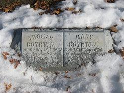 Mary <I>Kershaw</I> Boynton