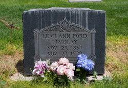 Leah Ann <I>Ford</I> Findlay