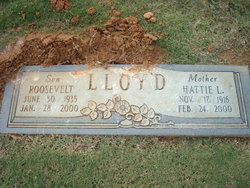Hattie Lee <I>Gibson</I> Lloyd