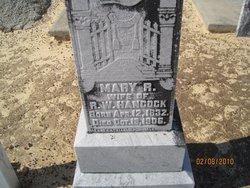 Mary R Hancock