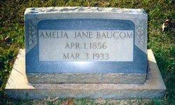 Amelia Jane <I>Bass</I> Baucom