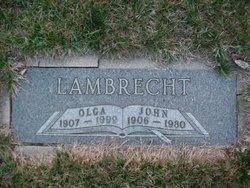 Olga Margaret <I>Deusterman</I> Lambrecht