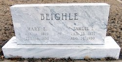 Mary E. <I>Laurence</I> Beighle