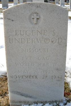 PVT Eugene S Underwood