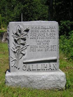 Agnes <I>Worthington</I> Callihan