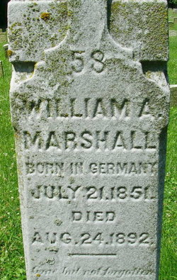 Pvt William A Marshall