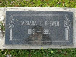 Barbara Ellen <I>Pounds</I> Brewer
